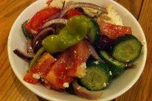 Salade grecque classique.