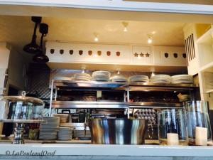 Le laboratoiire culinaire à aire ouverte du Salmigondis.